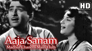 Aaja Sanam Madhur Chandni (HD) -  Chori Chori (1956) - Nargis - Raj Kapoor - Best of 50