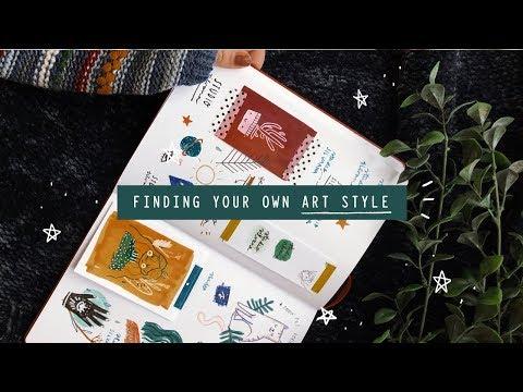 FINDING YOUR OWN ART STYLE • StudioSilvana