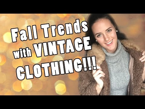 Fall 2016 Trends - All Vintage Clothing