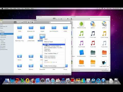 How to change your folder and application icons on a mac - MadeSimple4You!