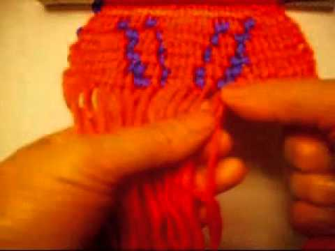 How To Make A alpha Friendship Bracelet With The Letter M-2.