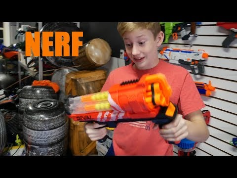 Nerf War : The Horn Blast Rival XVII-3000