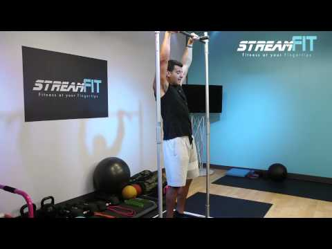 How to Do Hanging Leg Raises Abs Exercise Tutorial