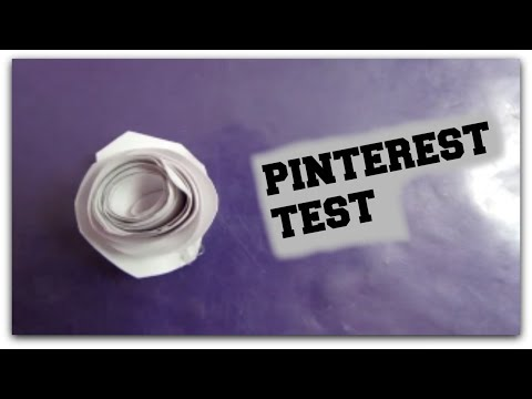 Pinterest Test: DIY Paper Flowers