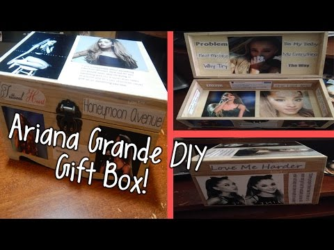 DIY Ariana Grande Gift Box | HoliDIY Christmas Gift!