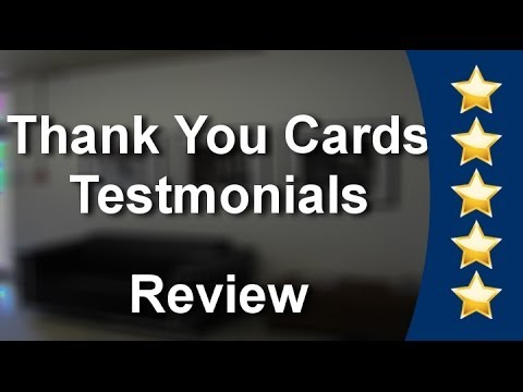 Business Thank You Cards Superb 5 Star Review - Success With Thank You Cards
