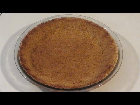 Graham Cracker Pie Crust! Make your own Graham Cracker Crust