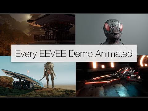 Every Blender EEVEE Demo Animated
