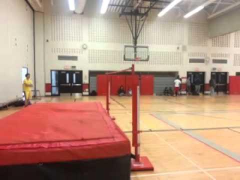 Week 2 of high jump practice