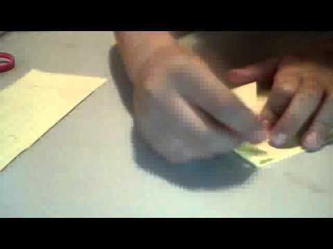 how to make a water bome (origami)