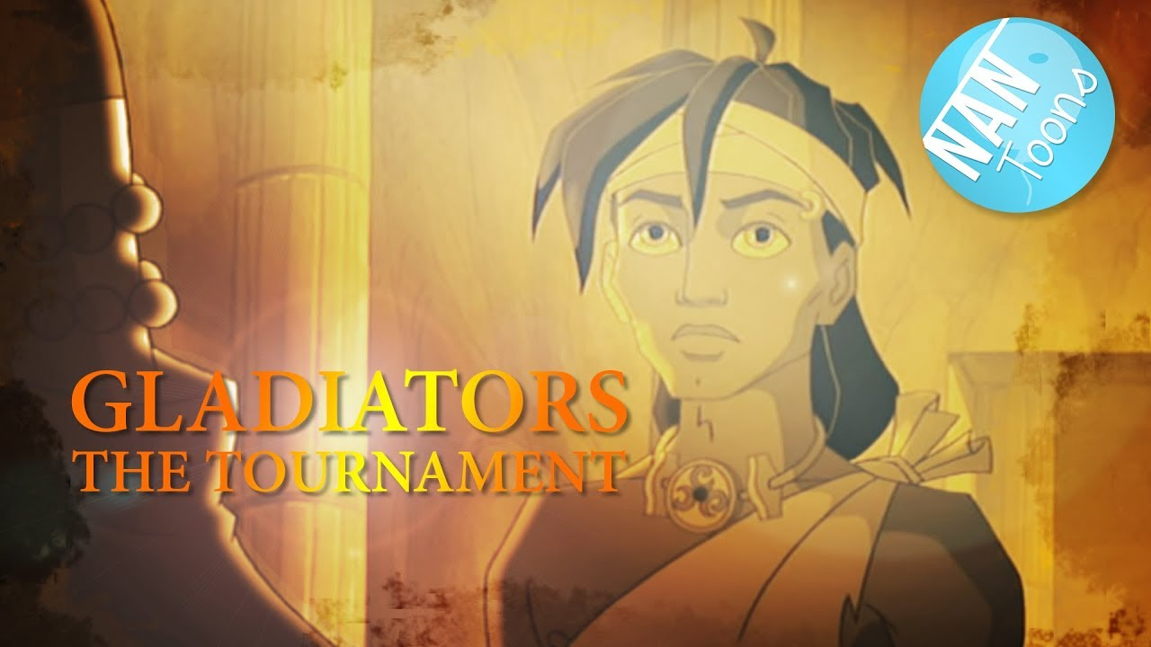 GLADIATORS THE TOURNAMENT | The entire movie for children in English | TOONS FOR KIDS | EN