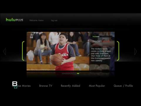 Hulu Plus Review using PS3 Playstation Plus