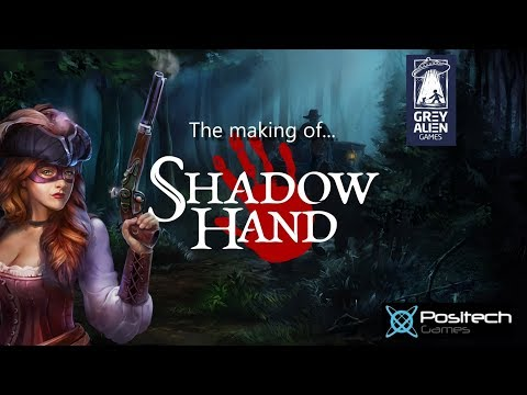 The making of Shadowhand by Grey Alien games (RPG/Card battling)
