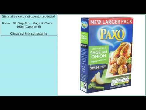 Paxo   Stuffing Mix   Sage & Onion   190g (Case of 6)