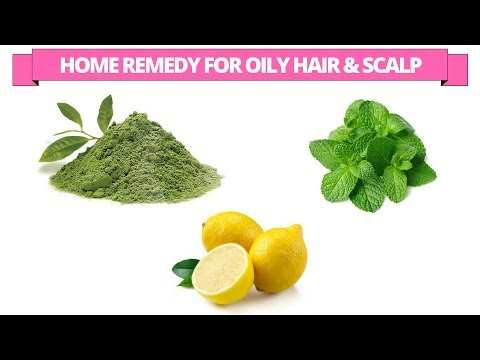 Best home remedy to get rid of oily hair and oily scalp