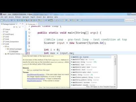 Java Programming 1 - Loops