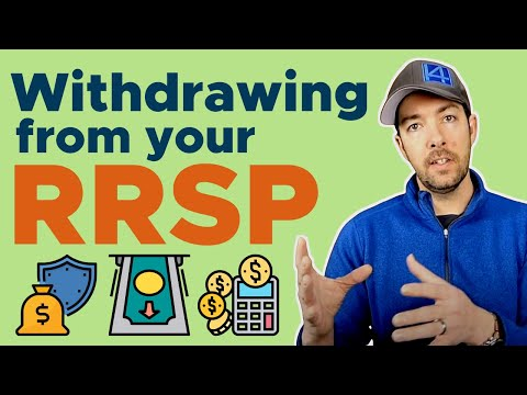 Withdrawing From Your RRSP