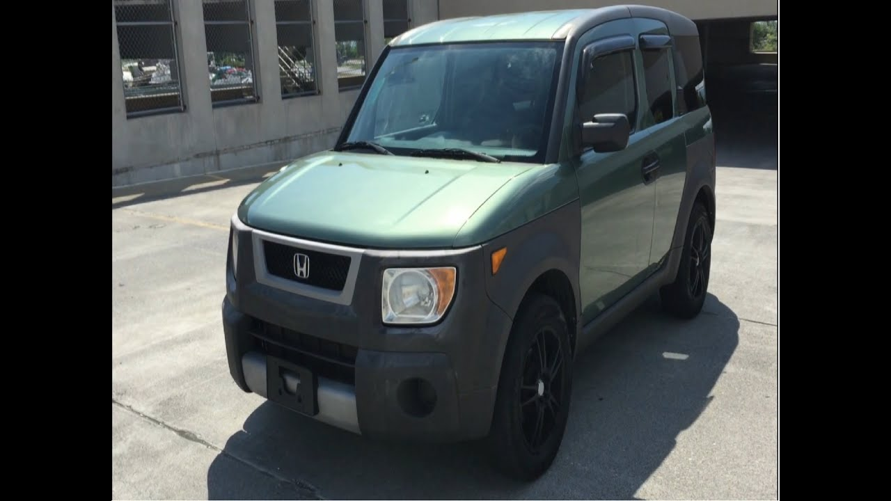 Used High Mileage Honda Element review, what to expect