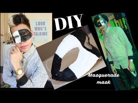 DIY masquerade mask | PLASTER, the easy way