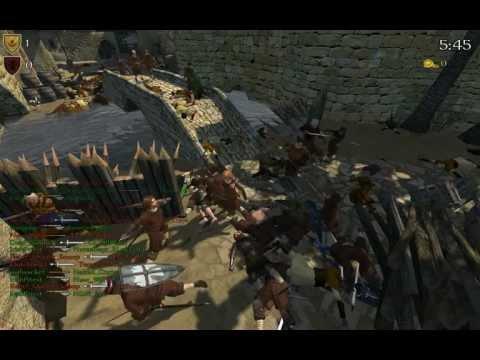 Mount and Blade: Warband - Slow Motion Peasant War - GK Siege