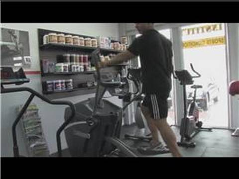 Exercise Techniques : How to Lose Weight on an Elliptical Machine