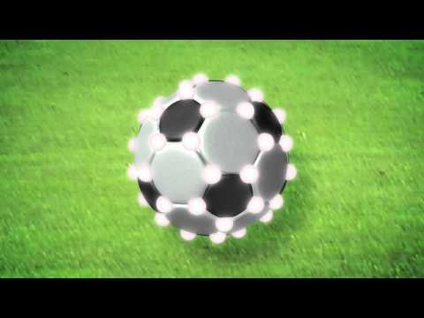 Mini Soccer Balls in Space