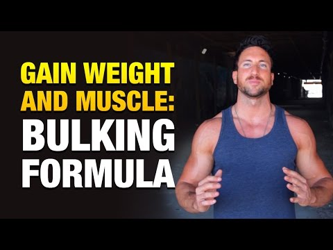 How To Gain Weight And Muscle: Simple Bulking Formula