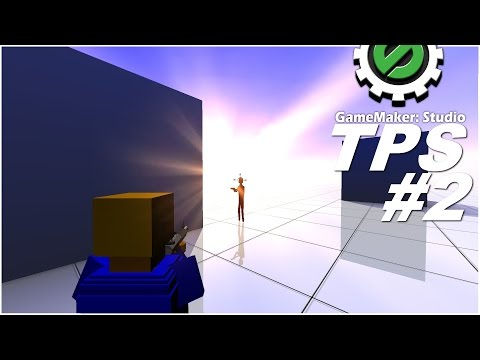 GM:S Tutorial - 3D Third Person Shooter #2 - Shooting Enemies