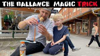 IMPOSSIBLE BALLANCE MAGIC TRICK ✏️-Julien Magic