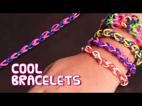 How to make Rubber Band Bracelets Without Using loom | DIY Bracelets for Beginners