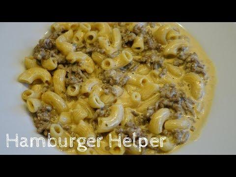 How to make Hamburger Helper (from scratch)