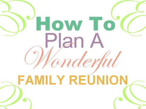 Family Reunion Planning Guide