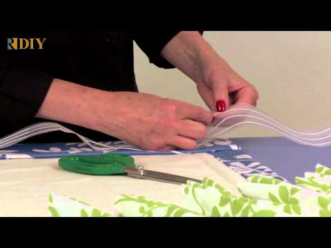 How-To Use Triple Pinch Pleat Tape
