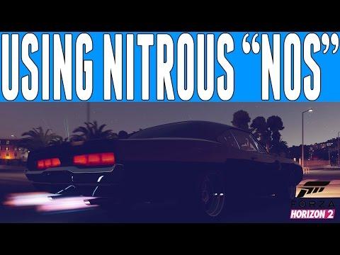 Forza Horizon 2 Fast and Furious : Using Nitrous