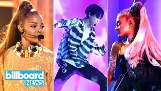Billboard Music Awards Highlights: BTS, Janet Jackson, Ariana Grande & More! | Billboard News
