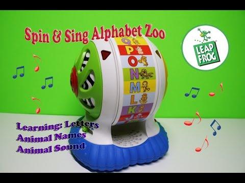 Alphazoo Spinner From Leapfrog Vidoemo Emotional Video