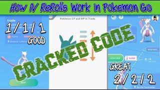 How Trade IV Rerolls Work In Pokemon GO