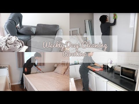 My Weekly Deep Cleaning Routine 2018// Cleaning Motivation | Zig Beswick