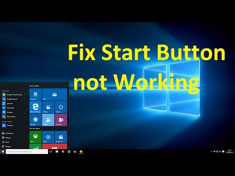 Fix Start Button not Working in Windows 10!! - Howtosolveit