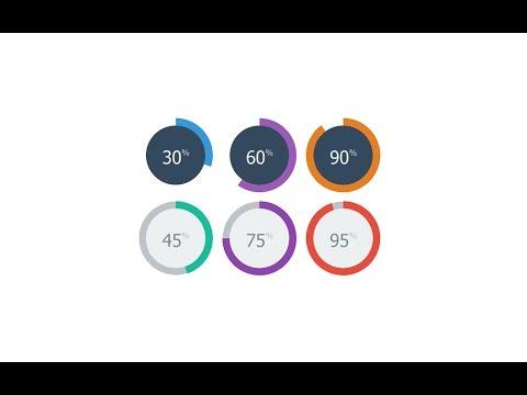 Visual Studio 2012, 2013, 2015 Circle progress bar C# and VB.NET  - Source Code