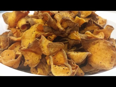 SWEET POTATO CHIPS AIR FRYER