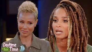 Download Jada Pinkett Smith brought to TEARS as Ciara tells the BIGGEST difference between Future & Russell! Video