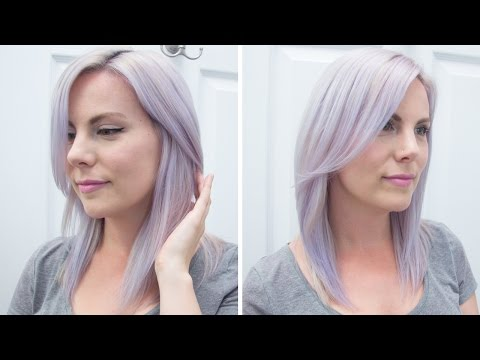 How To Dye Your Hair Lavender/Pastel Purple {Manic Panic Ultra Violet}