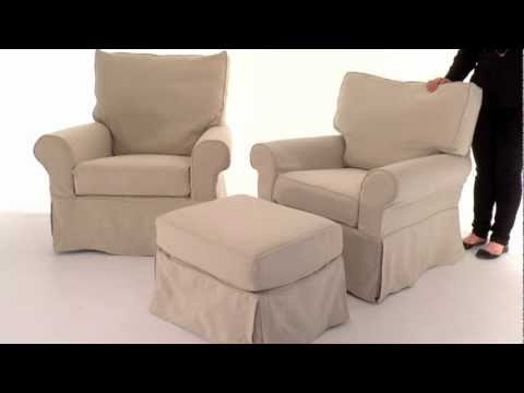 Update Your Nursery with this Comfortable Swivel Glider | Pottery Barn Kids