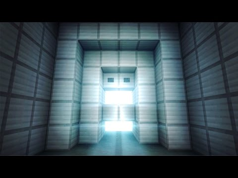 SUPER Simple & Compact PISTON DOOR! - Minecraft Tutorial