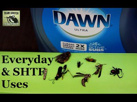 SHTF & Everyday Dawn Dish Soap Uses