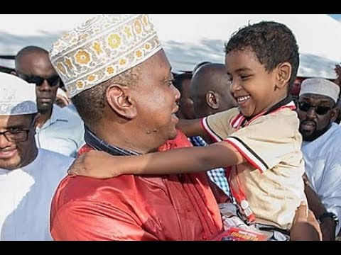 Uhuru FALLS IN LOVE with Young Boy when asked,