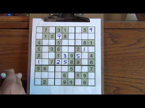 How to Solve Medium Sudoku Puzzles (Pt. 1)