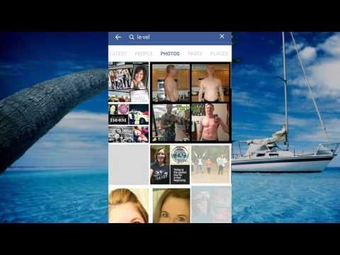 How to find new people through FACEBOOK PHOTO SEARCH