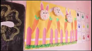 Pre-Primary Classes in Govt. Schools - Room decoration and Other Activities